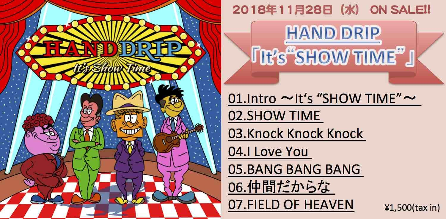 "1st ALBUM「It's ""SHOW TIME""」"